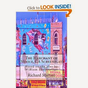 "My Screenplay ""The Merchant of Venice, California"" at Amazon"