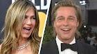 Brad Pitt chama Jennifer Aniston de 'boa amiga', pois ambos participam do Globo de Ouro de 2020