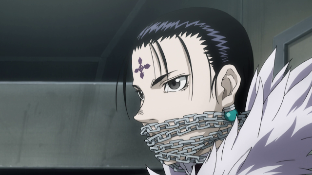 kuroro lucilfer, chrollo lucilfer, genei ryodan, hunter x hunter, danchou, the boss, phantom troupe, chains