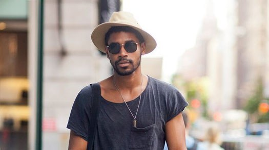 chapéu fedora marrom masculino