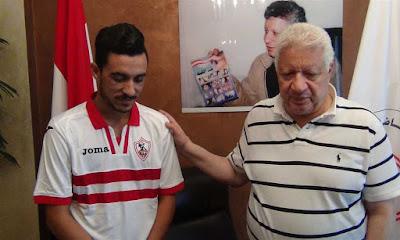 مرتضي يعلن ضم إبراهيم حسن، و الطويلة يهدد بإيقاف الصفقة