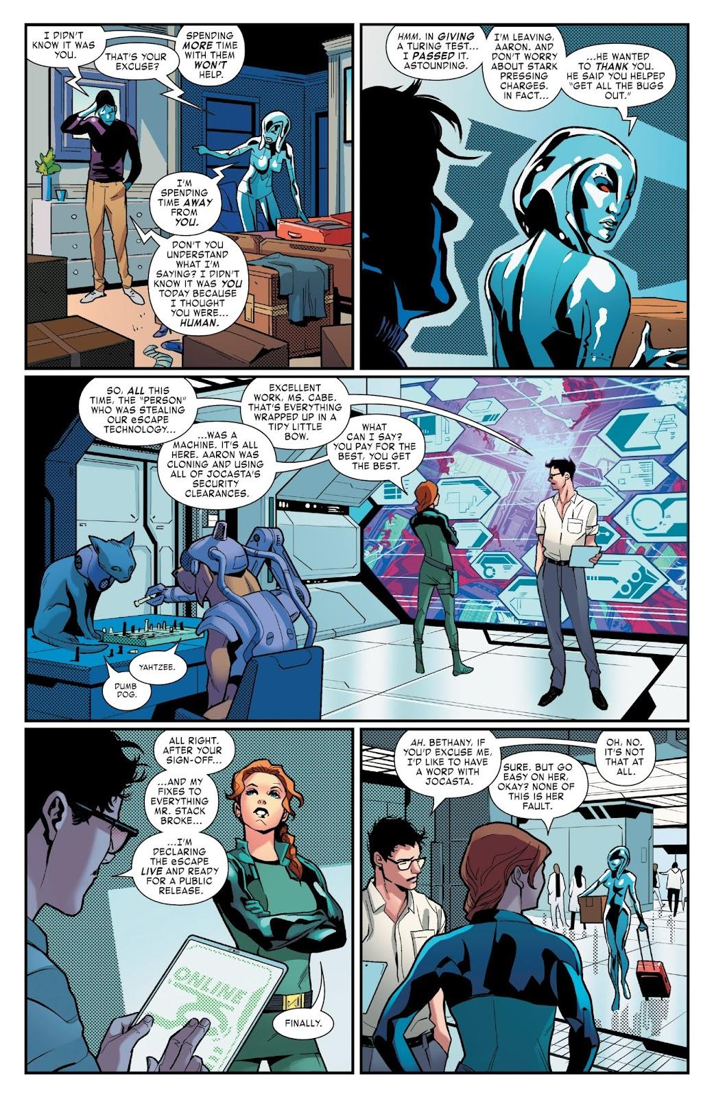Read online Tony Stark: Iron Man comic -  Issue #3 - 19