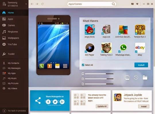 تحميل برنامج موبوجينى 2015 Mobogenie للكمبيوتر والاندرويد برابط مباشر
