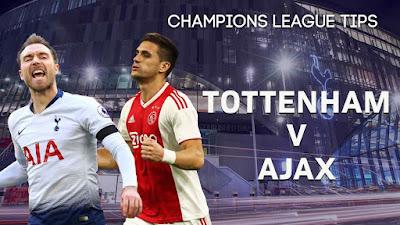 مباراة توتنهام واياكس امستردام بث مباشر