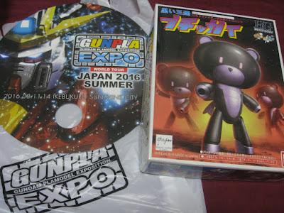 HGPG Black Tristar Petitgguy @ Gunpla EXPO'2016