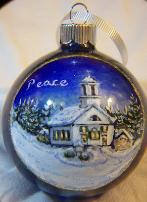 Windham Presbyterian Church, Peace Christmas Ornament