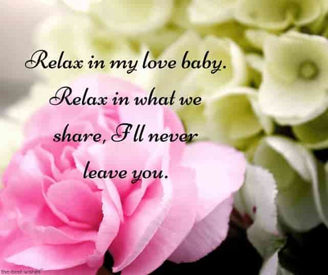 baby text message for love picture