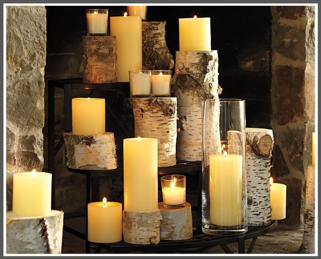 ideas para decorar chimeneas en desuso