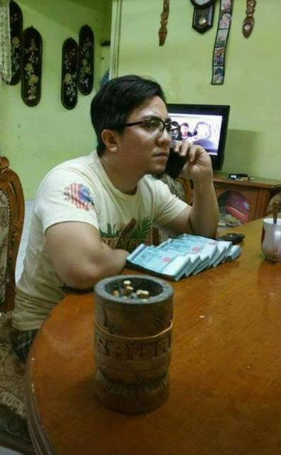 6 Foto Faizz Nur Bersama Beberapa Ikat Duit RM50 Selepas Viral Cetus Kebencian Netizen