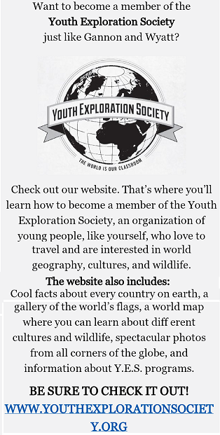 young explorers society banner