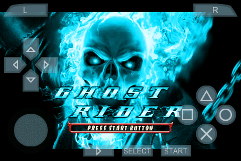 Ghost Rider PSP