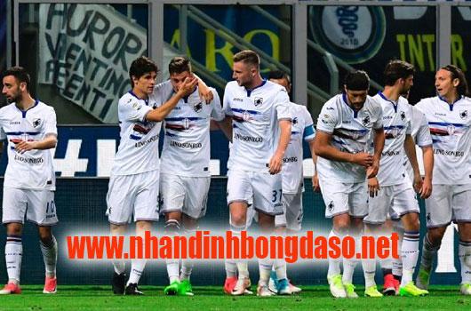 Sampdoria vs Spal www.nhandinhbongdaso.net
