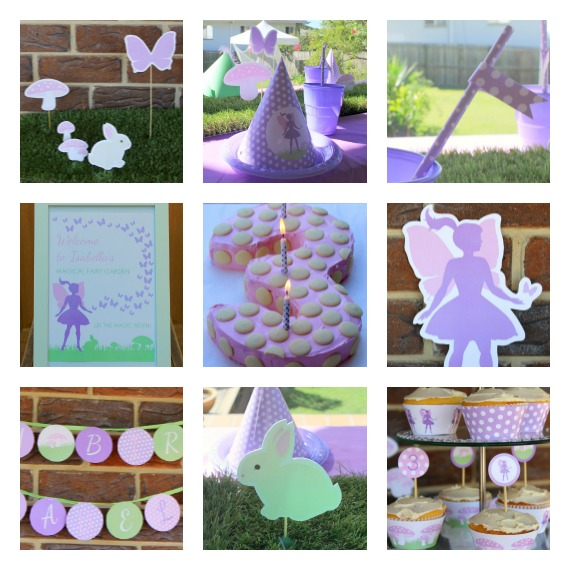 Fairy Party with Fairy Garden Printables by Love That Party