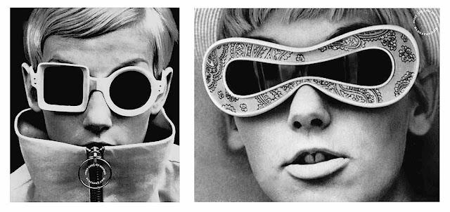 1960s mod sunglasses