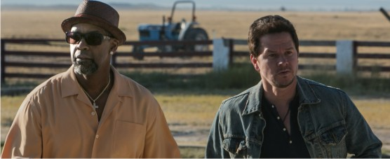 Trailer legendado, clipes inéditos e pôster nacional da ação DOSE DUPLA com Denzel Washington e Mark Wahlberg