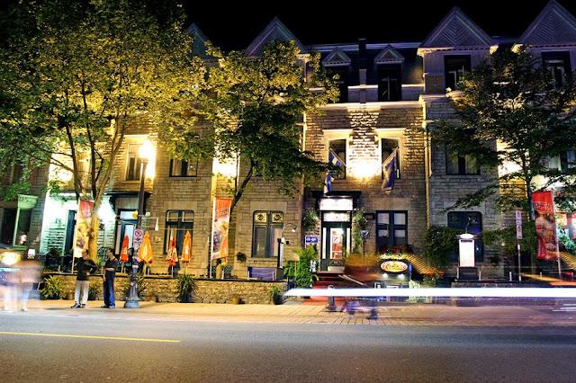 Grande Allée em Quebec