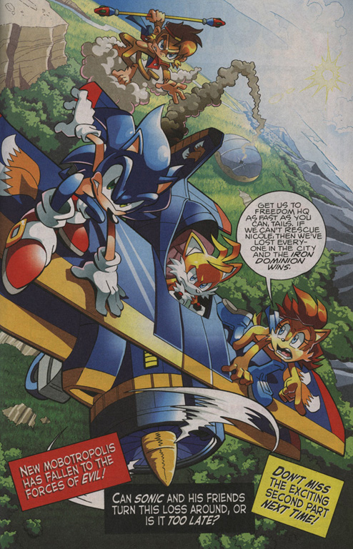 Read online Sonic The Hedgehog comic -  Issue #208 - 23
