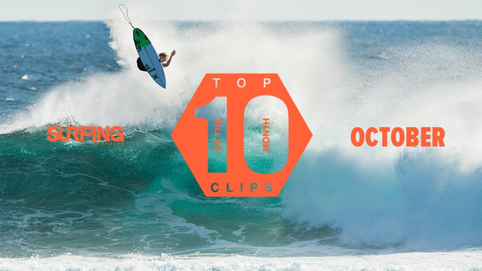 October Top 10 Surfing