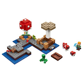 Minecraft The Mushroom Island Lego Set