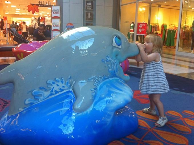 Kokemuksia Miami Beachin hotelleista ja majoituksista lasten kanssa sekä leikkipaikoista / Dadeland Mall