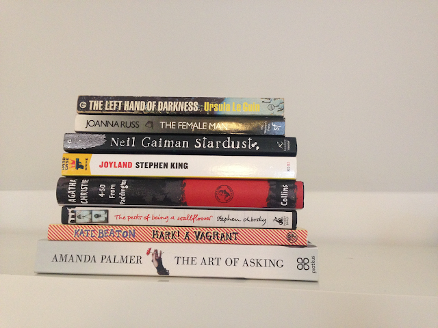 Magic & Musing's favourite genres - memoir, graphic novel and comics, young adult, mystery, fantasy, and science fiction