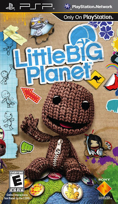 "Littlebigplanet: sack it to me – ""psp goodness, part 1"" edition."