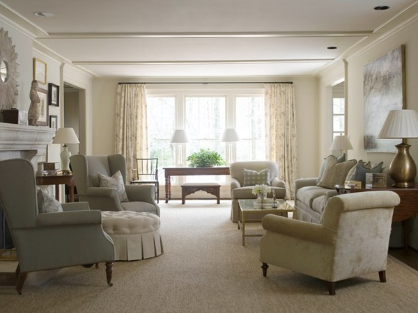 Jenny Steffens Hobick: The New Living Room Design Board  The great rug debate...