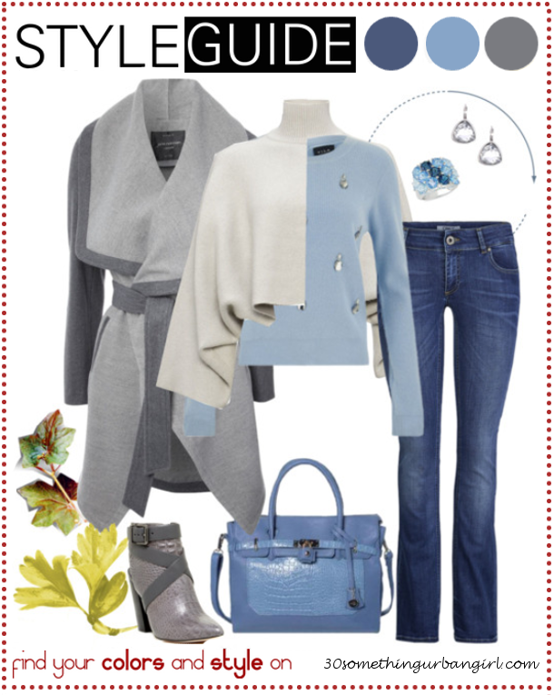 Bundle up for cold weather, casual outfit tip for Soft Summers