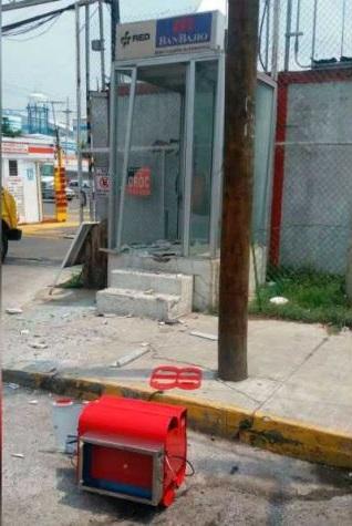 radio estado 32 ladrones robaron cajero autom tico cerca