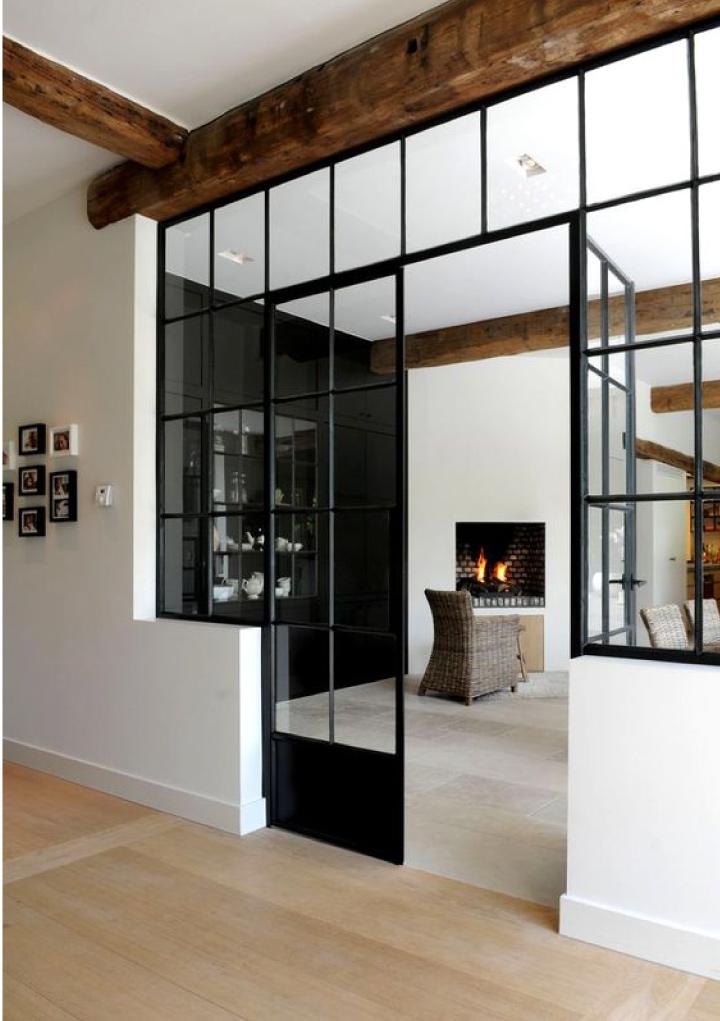 Preferenza Pareti di vetro e metallo per dividere gli ambienti | Blog di  JC12