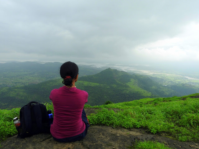 That oneness that comes from being in and with Nature | Harihar Fort, Maharashtra - India