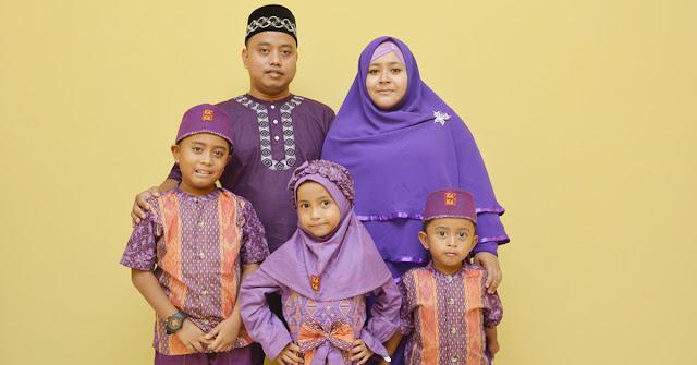 Syaiful Ramadhan dan Keluarga