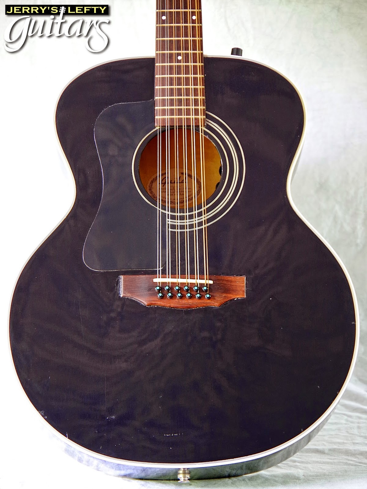 jerry 39 s lefty guitars newest guitar arrivals updated weekly 1997 guild jf30 12 string left. Black Bedroom Furniture Sets. Home Design Ideas