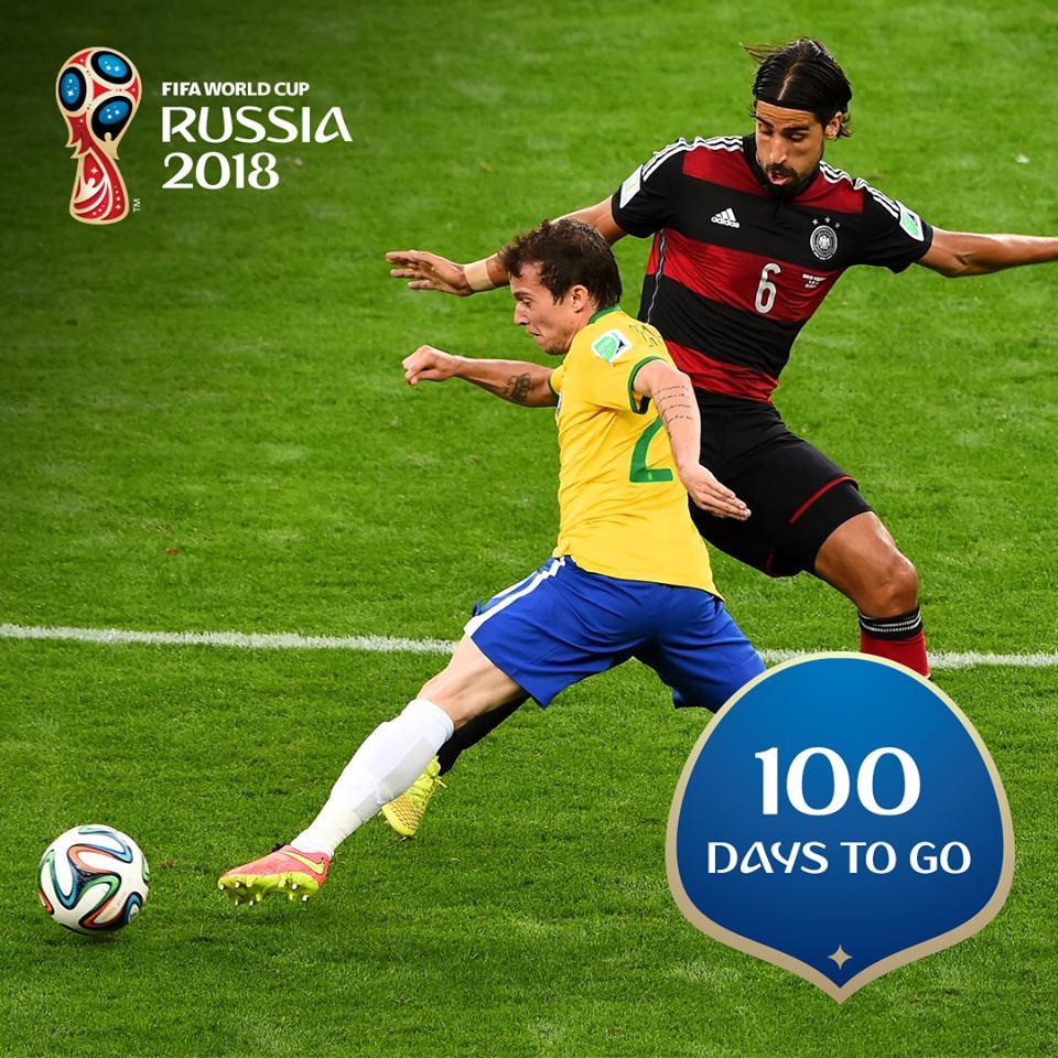 ddb07bd53a Contagem regressiva  Faltam 100 dias para a Copa da Rússia - Brasil ...