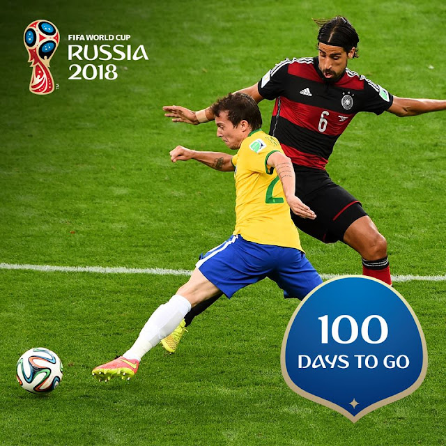 47832e6762e Contagem regressiva  Faltam 100 dias para a Copa da Rússia - Brasil ...