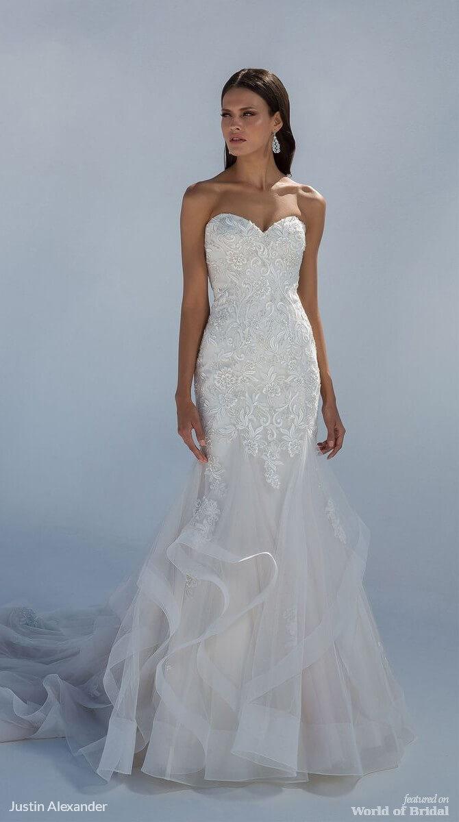 Justin Alexander Fall 2018 Wedding Dresses - World of Bridal