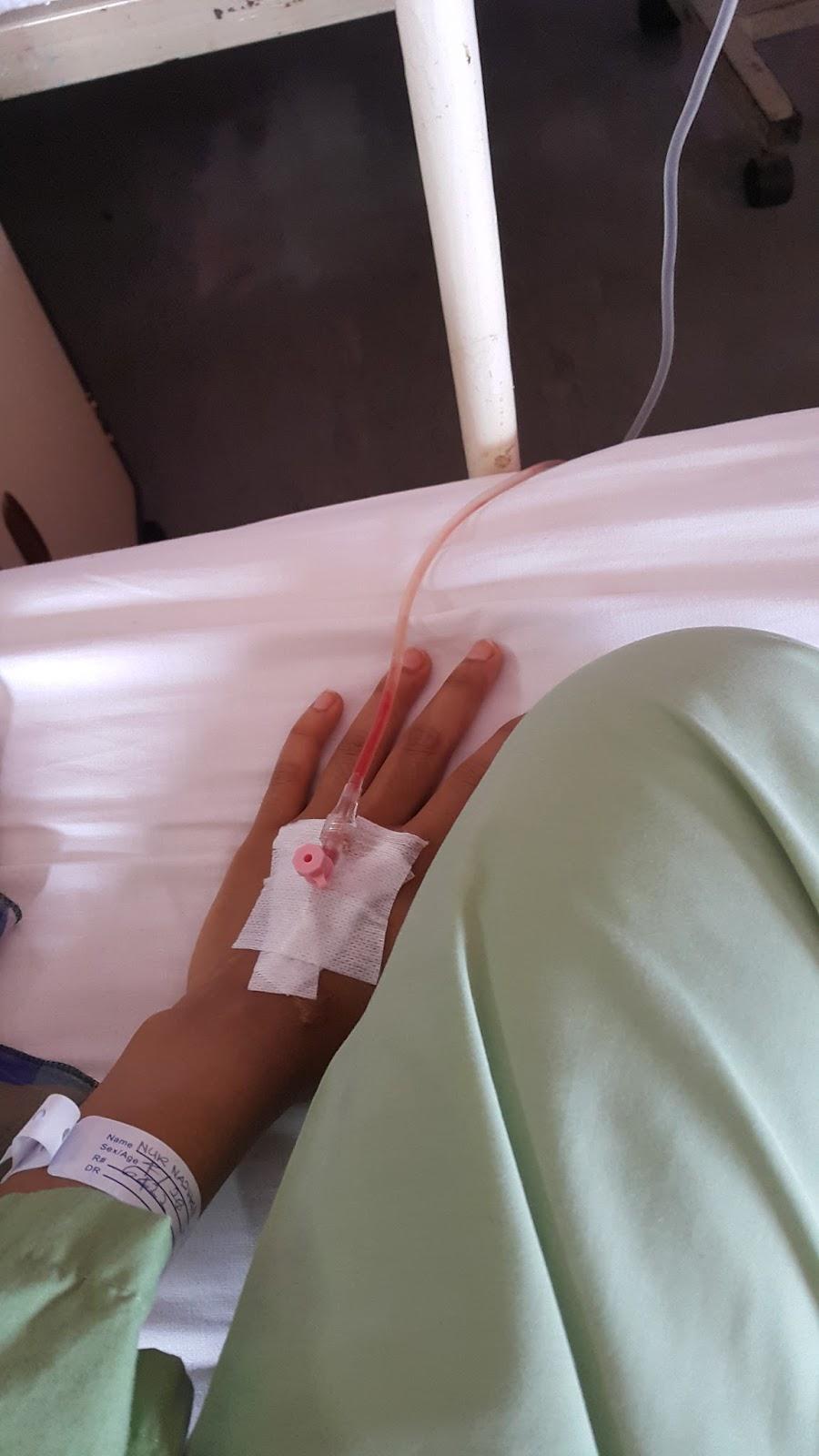 Shazika Shahrim Pengalaman Pertama Masuk Hospital