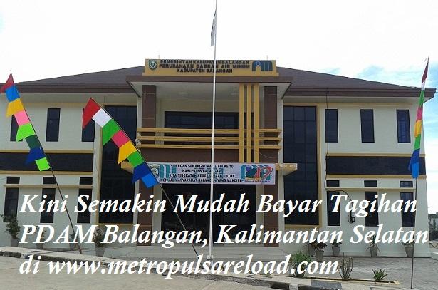 Loket PPOB Pembayaran PDAM Balangan, Kalimantan Selatan