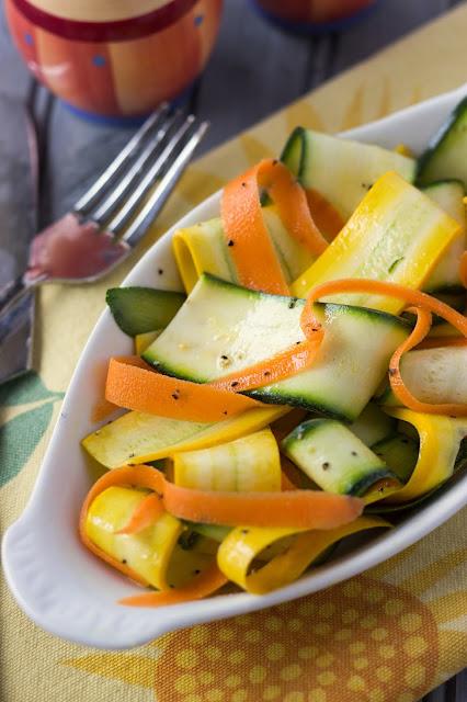 Ribbon Salad   Cooking on the Front Burner #salad