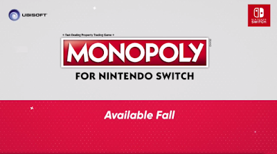 Monopoly for Nintendo Switch logo Ubisoft
