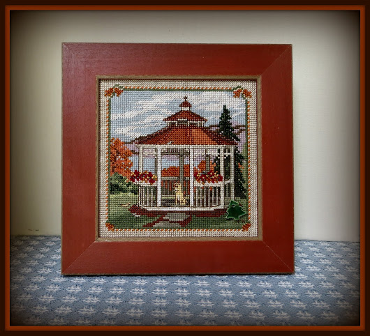 Linda's Review of Gazebo - Mill Hill Cross-Stitch Kit #MH14-1825
