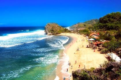 Pantai Indrayanti Jogja: tiket masuk, penginapan, peta lokasi & sejarahnya