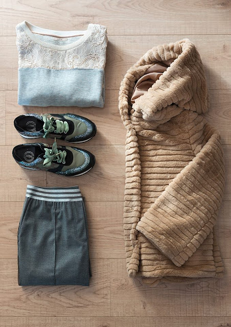 look sporty chic per l'inverno