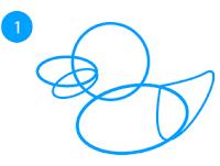 cara-membuat-menggambar-bebek-adobe-illustrator