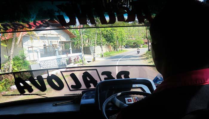 Balik Wonogiri Naik Bus