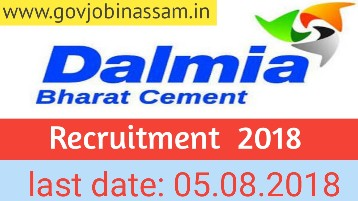 Dalmia Cement Limited Recruitment 2018 Online apply