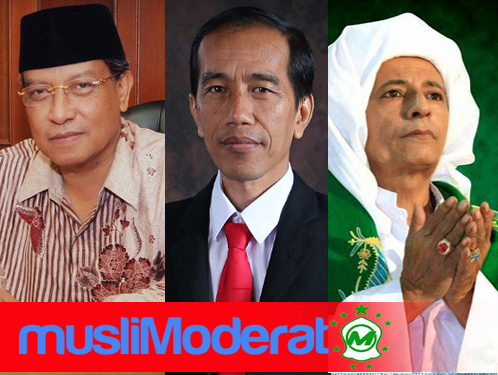 Hebat! Jokowi, Kiai Said Aqil Siradj dan Habib Luthfi Masuk 50 Muslim Berpengaruh Dunia 2018