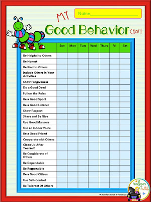 My Good Behavior Chart