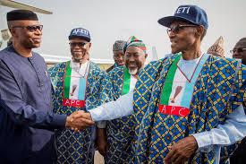 Buhari and apc chieftains