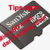Cara Merawat Micro SD / Memori card Hp Android agar awet
